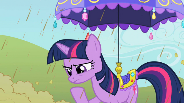 File:Twilight pondering under the umbrella S2E01.png