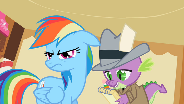 File:Rainbow Dash ear drop S2E8.png