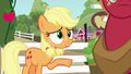 "Applejack asks Filthy Rich ""get where?"" S6E23.png"