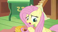 "Fluttershy ""Princess Celestia's taking us"" S6E17"
