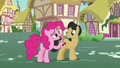 Pinkie Pie asks Cherry Fizzy about Applejack S7E9.png