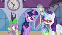 Rarity 'and you will be back' S4E01
