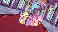 The Hub promotional image for The Return of Harmony Part 1