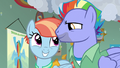 Bow and Windy excited to see Rainbow Dash S7E7.png