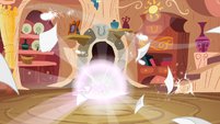 Future Twilight begins to teleport to the present S2E20