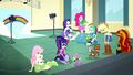 Mane Six playing with their pets SS7.png