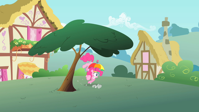 File:Pinkie Pie under a tree S1E15.png