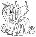 Princess Cadance groom suit ID PCPM