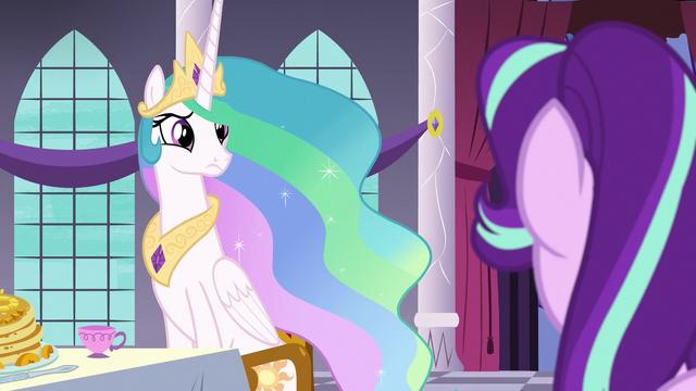 File:Princess Celestia looks skeptical at Starlight S7E10.png