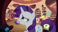 "Rarity feeling ""just awful"" S4E18"