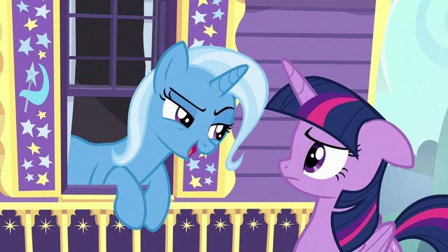"""File:Trixie smug """"great idea, Princess Twilight"""" S6E25.png"""