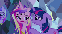 Twilight consoles Cadance S2E26