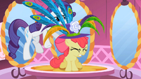 Apple Bloom slammed by hat S2E6