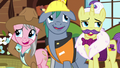 Expert ponies chuckling nervously S7E5.png