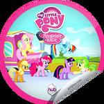 Games Ponies Play GetGlue sticker