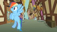Rainbow Dash listening carefully S2E08