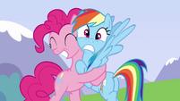 Rainbow isn't enjoying this S3E7