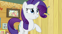 "Rarity ""that would be tres gauche!"" S7E6"