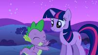 Twilight and Spike S1E24