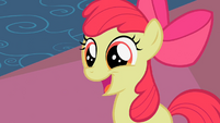 Apple Bloom thinks she did the strike S2E06
