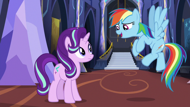 """File:Rainbow """"we need very specific conditions"""" S6E21.png"""