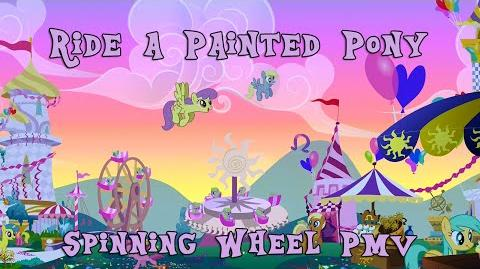 Ride a Painted Pony Spinning Wheel MLP FiM PMV