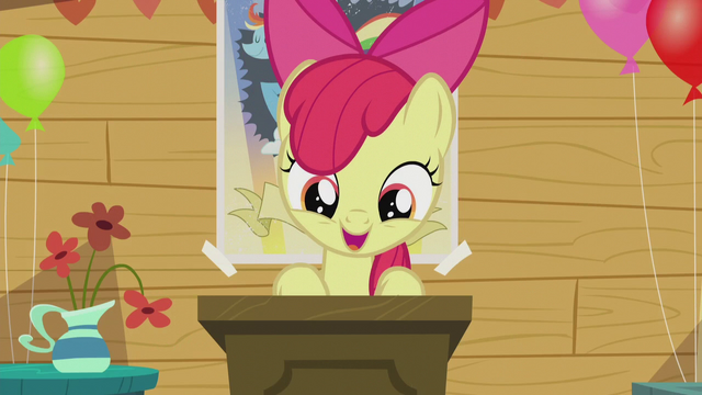 "File:Apple Bloom ""what do you think, Crusaders?"" S5E18.png"