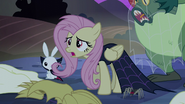 """Fluttershy """"you all may love Nightmare Night"""" S5E21"""