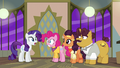 Rarity and Pinkie hear a knock at the door S6E12.png