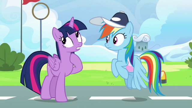 """File:Twilight Sparkle """"making her friend look good"""" S6E24.png"""