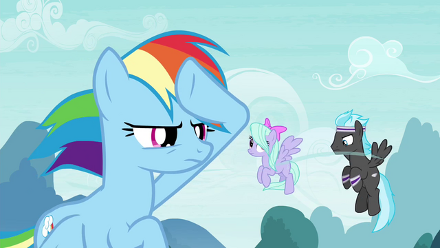 File:Rainbow Dash with Pegasus team S4E16.png