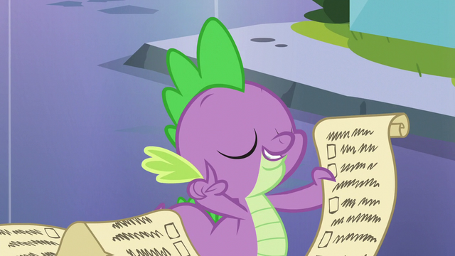 "File:Spike's wisdom ""trust the lesson"" S6E1.png"