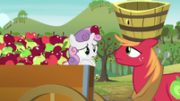 "Sweetie Belle ""But are you sure you feel content"" S6E4"