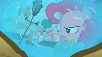 Pinkie Pie in reflection 'Fine!' S2E01
