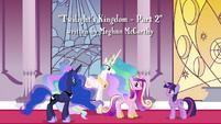 "Celestia ""is aware that a fourth Alicorn princess exists"" S4E26"