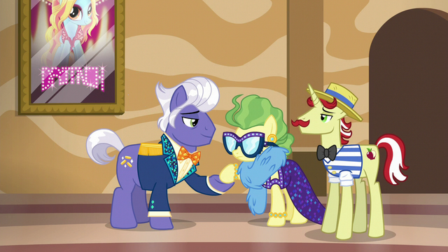 File:Gladmane shakes Impossibly Rich's hoof S6E20.png