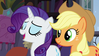 "Rarity ""everything is going to be just fine!"" S5E16"