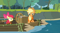 Applejack 'I guess' S4E09