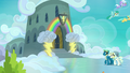 Exterior shot of Wonderbolt Academy barracks S7E7.png