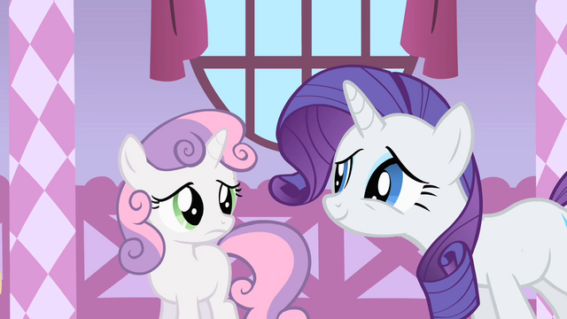 File:Rarity trying to appeal Sweetie Belle S1E17.png