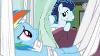 Soarin in the adjacent bed S4E10