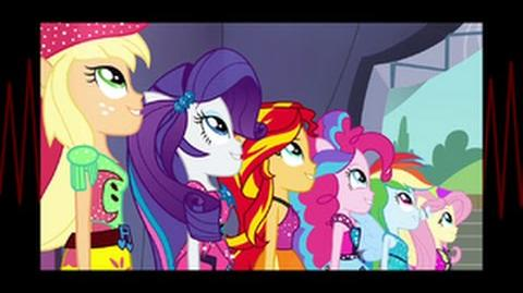 Swedish Equestria Girls Rainbow Rocks Shine Like Rainbow HD