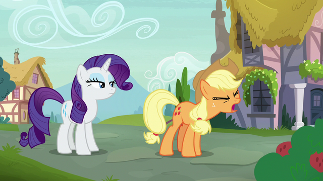"File:Applejack ""she wouldn't be so mean"" S7E9.png"