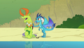 Princess Ember being supportive of Thorax S7E15.png