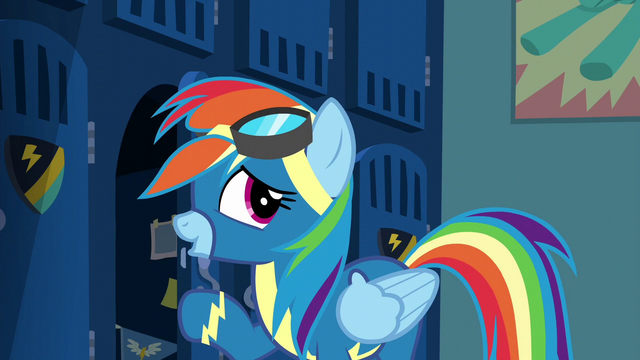 "File:Rainbow ""I'll have it down cold tomorrow"" S6E7.png"