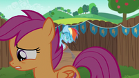 Scootaloo walking away depressed S6E14