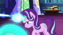 Starlight Glimmer returns fire at Twilight S6E21