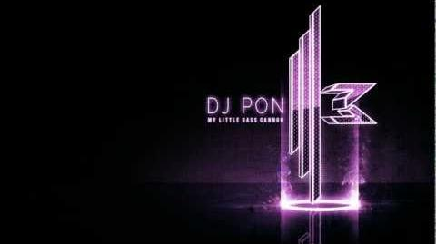 DJ Pon-3 - My Little Bass Cannon OFFICIAL HD