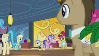 Dr. Hooves at the bowling center S5E9