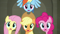 """Main four """"just like I thought Rarity would want!"""" S6E9.png"""